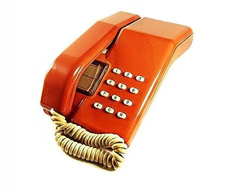 4bcf0ff6e Viscount - Vintage 1980 s Push Button BT Retro Telephone in Tan   Amazon.co.uk  Electronics
