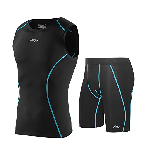 Skin Tight Compression Suits Mens Performance Vest Shorts Shirts Pants