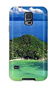 Best 5018422K22097912 AnnaSanders Case For Galaxy S5 With Nice Thailand Holidays Beach Appearance