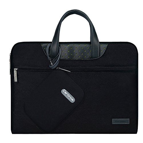 Click to buy Laptop Sleeve Bag, Cartinoe 11.6 - 12 inch Tablet Laptop Portable Breifcase Case Laptop Sleeve Handbag Carrying Case for MacBook Air/ Pro,Acer, Asus, Dell, Lenovo, HP, Samsung, Surface - Black - From only $20.89