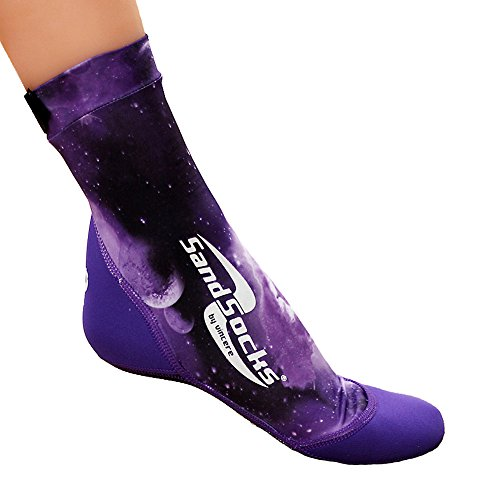 UPC 819994010823, Vincere Sports Sand Socks Purple Galaxy Size Large