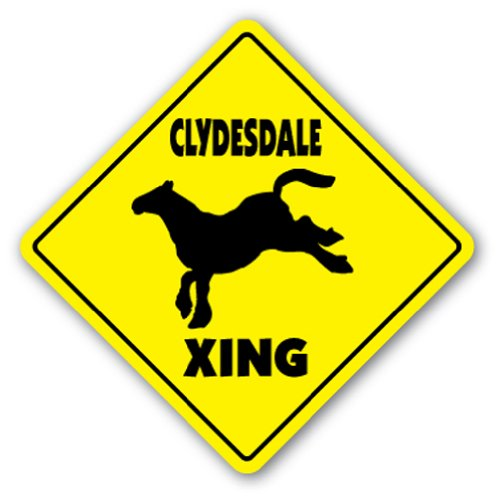 Clydesdale Sticker - 9
