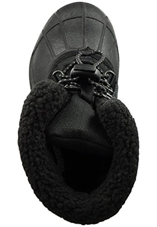 Sorel Kids Winter Boots Youth Cumberland II Lined NY1791 Black Black, Sorel Schuhe Kids:25