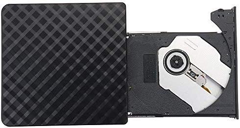 光学ドライブ PCのラップトップのためのスリム光学ドライブバーナーリーダープレーヤー外付けのUSB 3.0 DVD RW CDライター 再生 編集 書込 パソコン 外付 周辺機器 (Color : Black, Size : One size)