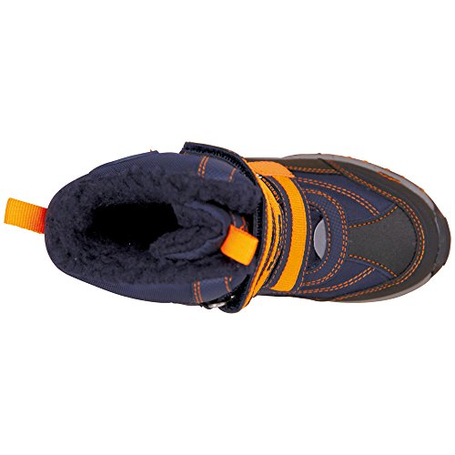 Kappa Unisex-Kinder Ben Tex Kids Kurzschaft Stiefel Blau (6744 navy/orange)