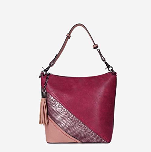 Borsa da a color hit pescaottone Fashion donna color argento e America Trend Ytxy New tracolla Europa Borsa Donna qMpSzGUV