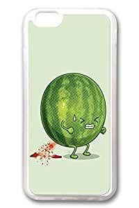 iPhone 6 Cases, Personalized Protective Case for New iPhone 6 Soft TPU Clear Edge Watermelon