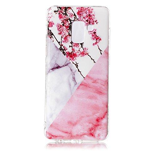 Slim Shockproof Case for Samsung A8 (White) - 9