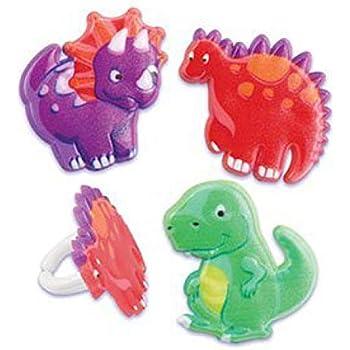 Amazon.com: VEYLIN 48 piezas de decoración para cupcakes de ...