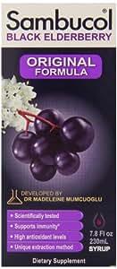 Sambucol Original Liquid Black Elderberry  7.8 fl.oz