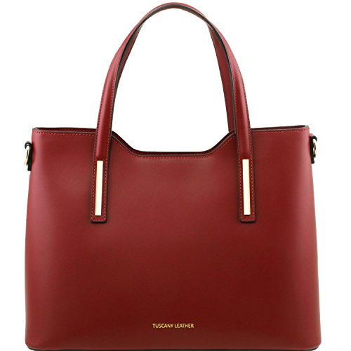 Sac Ruga Cuir Rouge Leather Cabas Olimpia Tuscany En qSYx4wEng