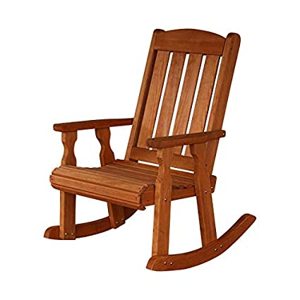 Groovy Amish Heavy Duty 600 Lb Mission Pressure Treated Rocking Chair Cedar Stain Interior Design Ideas Gentotryabchikinfo