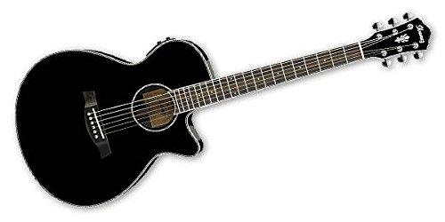 【国内正規品】 IBANEZ アイバニーズ エレクトリックアコースティックギター AEG10IIBK B071GBBGSP
