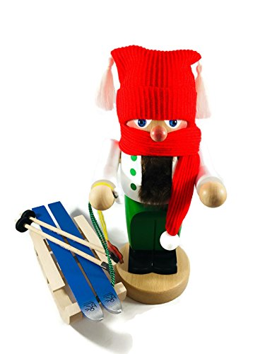 Steinbach Nutcrackers Troll Winter with Sleigh 11 Inches Tall Kurt Adler Brand New Hand Made in Germany by Steinbach (Image #6)