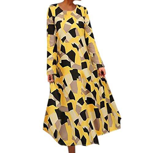 - Women's Summer Floral Dresses Sleeveless V- Neck Casual Long Maxi Dress ♛HebeTop♛