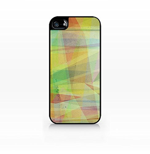 Color block, geometry, colorful pattern, galaxy - Flat Back, iPhone 5 case, iPhone 5s case, Hard Plastic Black case