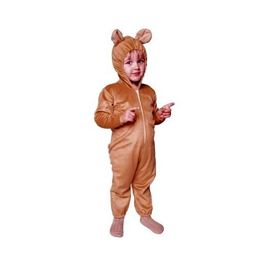 Cute Bear Jumpsuit Costumes (RG Costumes 70083-T Cute Bear Jumpsuit Costume - Size Toddler)