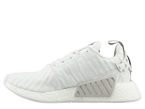 adidas Homme Chaussures / Baskets NMD_R2 - Blanc - 41 1/3 EU
