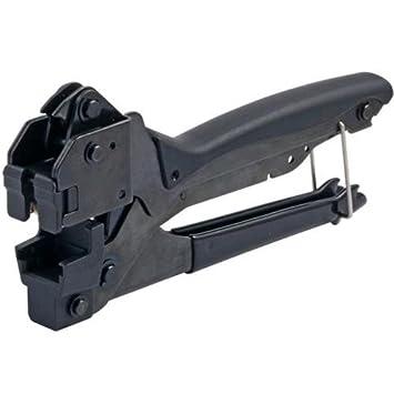 Intellinet I-HT 3000 - Alicate de crimpar para UTP Keystone Negro: Amazon.es: Electrónica
