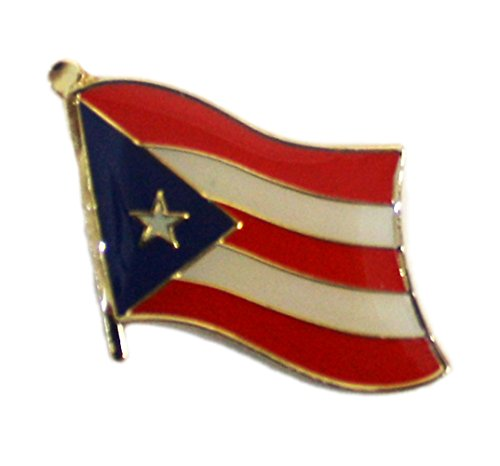 Ted and Jack - Show Your Pride in Your Nation Lapel Pin (Puerto Rico) ()