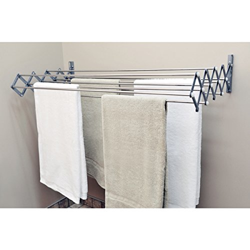 Expandable Accordion Indoor/Outdoor Drying Rack