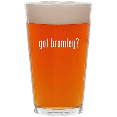 - got bromley? - 16oz Pint Beer Glass