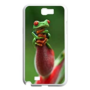 Frog Original New Print DIY Phone Case for Samsung Galaxy Note 2 N7100,personalized case cover ygtg530863
