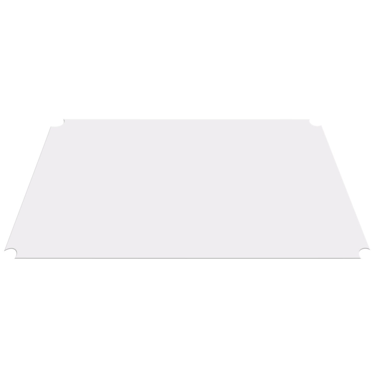 AKRO-MILS  AW2436LINER - Clear Shelf Liner for 24-inch X 36-inch Chrome Wire Shelf - Pack of 4