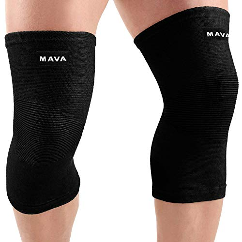 d1e672407 Mava Sports Knee Support Sleeves (Pair) for Joint Pain   Arthritis Relief