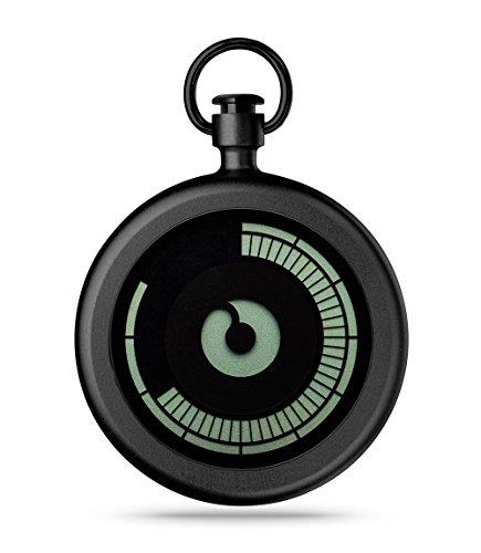ZIIIRO Pocket Watch - Titan - Black by Ziiiro