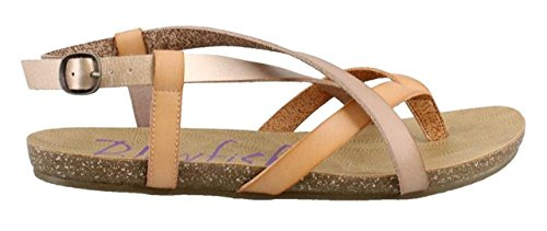 Blowfish Women's Granola Blonde/Pearl Rose Gold/Blush Dyecut 7 M US M ()
