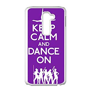 Keep Calm And Dance ON Bestselling Hot Seller High Quality Case Cove For LG G2