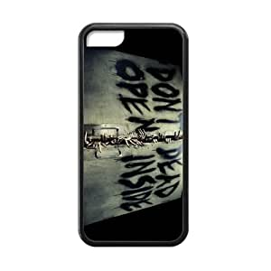 Laser New Technology Custom The Walking Dead iphone 5/5s iphone 5/5s Cover Case With Tangy-346