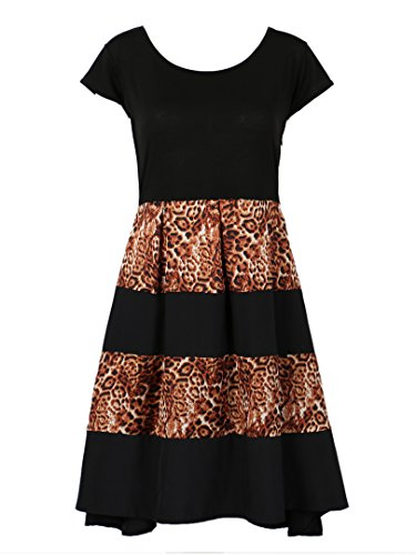Choies Women Sleeve Leopard Vintage