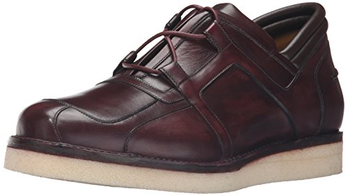 A.testoni Mens M40320rmm Fashion Sneaker Burgundy
