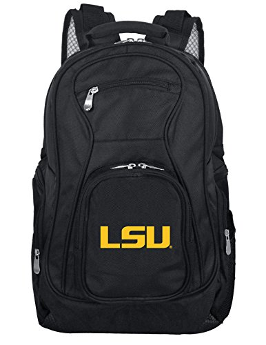 Denco NCAA LSU Tigers Voyager Laptop Backpack, 19-inches, ()