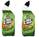 Lime-A-Way Liquid Toilet Bowl Cleaner, 24 fl oz Bottle, Removes Lime Calcium Rust (Pack of 12) (2-(Pack))