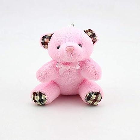 Amazon.com: Rarido - Llavero con diseño de oso de peluche ...