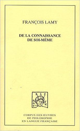 Livres gratuits en ligne De la connaissance de soi-même : Tome 2, Troisième traité : De l'Etre moral de l'Homme ou de la science du coeur pdf, epub