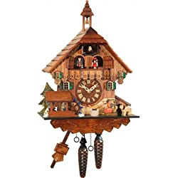 Alexander Taron Importer 435 Engstler Weight-driven Cuckoo Clock, Full