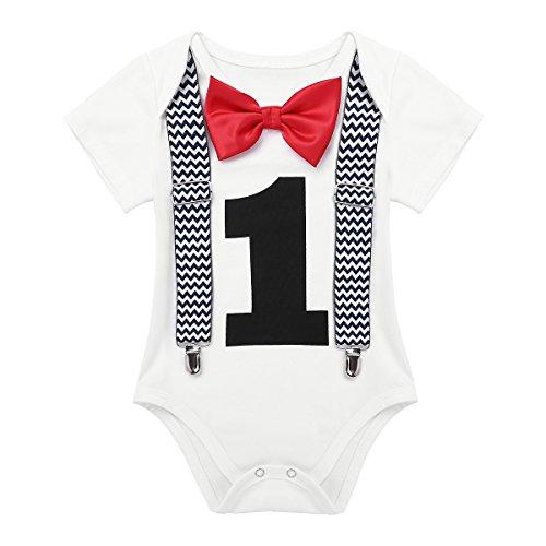 Alvivi Infant Baby Boys Toddler Short Sleeves First
