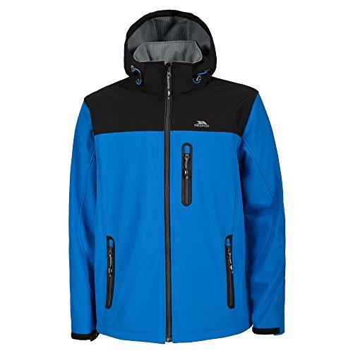 Trespass Mens Hebron Waterproof Softshell Jacket (S) (Bright (Mens Accelerator Soft Shell Jacket)