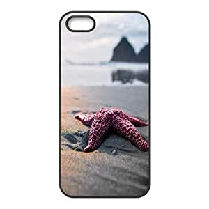 For Iphone 6 Plus Phone Case Cover Close Up Sea Star On The Beach Hard Shell Back Black For Iphone 6 Plus Phone Case Cover 326232