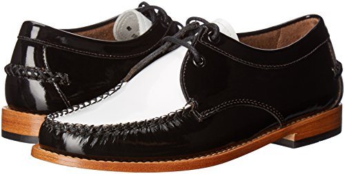 G.H. Bass & Co. Women's Winnie Tuxedo Loafer, Black/White, 9 M US by G.H. Bass & Co. (Image #6)