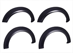 EGR 782654 OEM Look Fender Flare Set of 4 No-Drill - Front And Rear