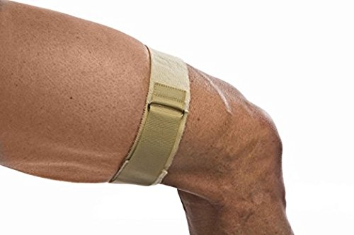 Iliotibial Band Syndrome Itbs - Cho-Pat ITB Strap - Support for Running and Everyday Activities to Relieve Discomfort from Iliotibial Band Syndrome (ITBS) - XL (23.5