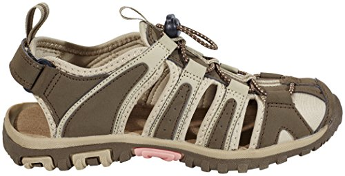 Hi-Tec Cove Sandals Women Taupe/Dune/Blossom Schuhgröße UK 7 | 40 2018 Sandalen