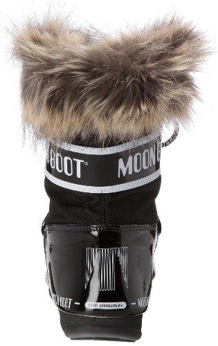 Nieve Moon Monaco para 001 Boot W Botas Low e Mujer Nero de Negro rZqrtx0
