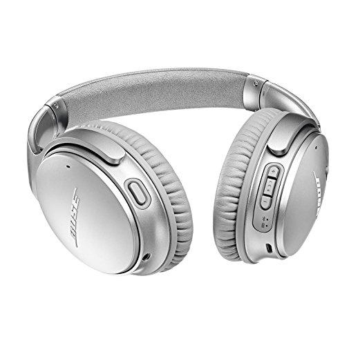 Bose QuietComfort 35 (Series II) Wireless Headphones, Noise Cancelling - Silver