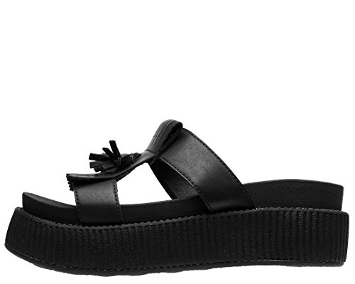 k On Slip Limited T Edition Sandal Black Women's Shoes Kiltie u FH5xwpq51